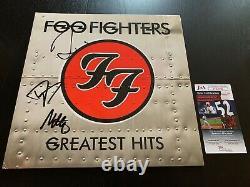 Foo Fighters Signé Vinyl Album Jsa Coa Exact Proof Autographié