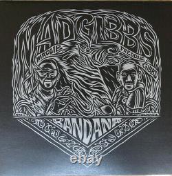 Freddie Gibbs & Madlib Bandana Lp Alternative Artwork Signé /250 Vinyle Numéroté