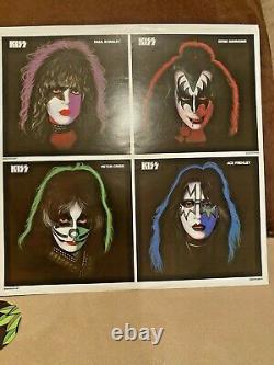 Gene Simmons Signé Kiss Solo 1978 2014 Réédition Album Lp Record Vinyl Jsa V73423