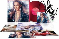 Jennifer Lopez Signé Autograph Love Glitterati Box Set CD Vinyl Lp Litho Nouveau