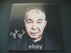 John Prine Autographié Signé L'arbre Du Pardon Vinyl Lp Jsa Psadna