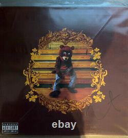Kanye West The College Dropout Hand Signé 12 Vinyle