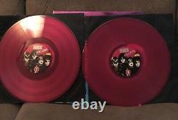 Kiss Killers 2021 2lp Gatefold Pink Vinyl 180g Signé Par Paul Stanley 1155