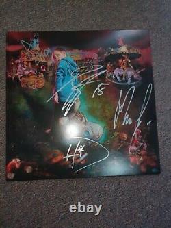 Korn Vinyl Record Autographié