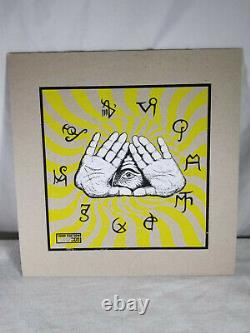 L'épée Apocryphon Lp 155/300 Limited Edition Tour Vinyl Signé Par All Rare