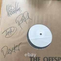 L'offspring- Laisser Le Mauvais Temps Rouler 12 Test Pression Vinyl Signé Autographié