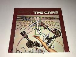 La Bande Rare De Voitures Signée Autographied Heartbeat Vinyl Lp Record Ric Ocasek + Coa