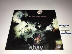 La Cure Robert Smith Rare Signé Réédition De Désintégration Vinyl Lp Record Bas Coa