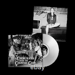 Lana Del Rey Chemtrails Over The Country Club Vinyl Clair Signé 12 Lithographie