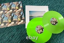 Lana Del Rey Nfr Norman Rockwell Lime Green Vinyl 12 Europe Uk France Signé