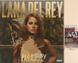 Lana Del Rey Signé Paradise Autographié Vinyl Record Jsa Coa