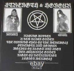Le Maître De La Guerre Satanique Force Et Honneur Blanc Lp Signé! Goatmoon Vothana Absurd Oop