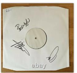 Les Étrangleurs Les Matières Sombres Vinyl Lp Signé Test Appuyant Sur Rare 1 De Seulement 25