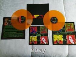 Les Étrangleurs Rattus Revector Signé Double Vinyl Orange Ltd Numéroté