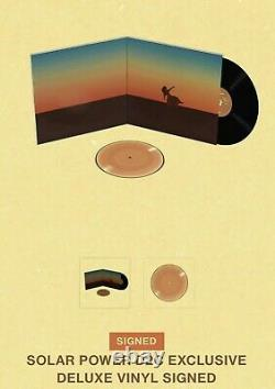 Lorde Signé Solar Power D2c Exclusive Deluxe Vinyl Autographied Proof