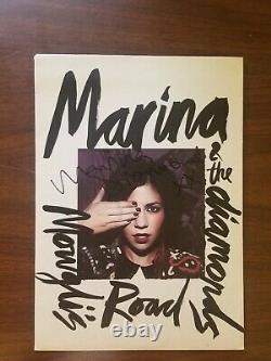 Marina & The Diamonds Mowgli's Road / Espace Et Bois Vinyl 7 Signed Rare 2009