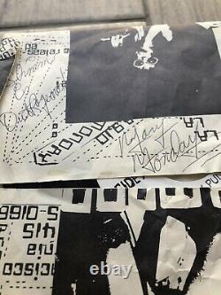 Mary Lundi 1977 J'ai Donné Ma Veste Punk À Rickie Popgun 45 Autographié