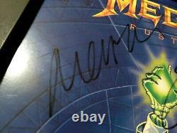 Megadeth Rust In Peace 1ère Presse Signée Par La Lineup Original