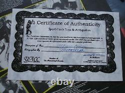 Metallica Master Of Puppets Autographied Lp Avec Coa Elektra E1 60439