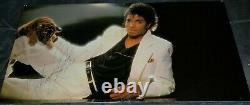 Michael Jackson A Signé Thriller Vinyl