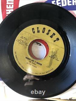 Milton Parker Vinyl Rare! Closet 3101 Vg Soul Northern Soul 45 Signé