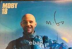 Moby 18 -double Vinyle Lp Signé / Autographe Sealed Rare