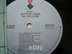 Mötley Crüe Dr. Feelgood Autographied Lp Avec Coa Elektra E1 60829 Motley Crue
