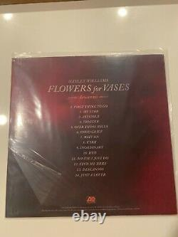New Free Ship Igned Autograph Hayley Williams Flowers Pour Vases Descansos