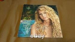 New Taylor Swift Signé Lp Turquoise Blue Marble Vinyl Record Store Day Rsd Rare
