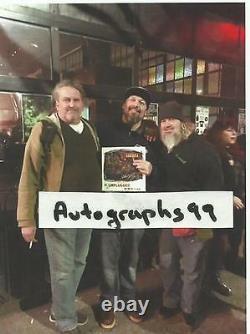 Nirvana Signed White Vinyl Lp Par 5 Coa + Proof! Dave Grohl Krist Novoselic Foos