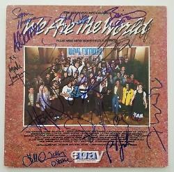 Nous Sommes Le Monde Signé Vinyl Record Bruce Springsteen, Billy Joel Et 13 Plus