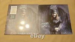 Nouveau Ozzy Osbourne Ordinaire Homme Argent Smoke Signed Lithographie Limited Vinyl Lp