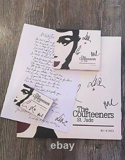 Nouveau Signé Courtois St Jude Rewired Vinyl, Cd, Cassette, Feuille Lyrique