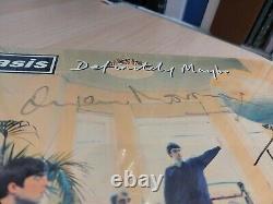 Oasis Signé Sans Aucun Doute Création Selee Presse Vinyle Offres