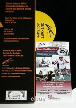 Outkast A Signé Aquemini Album 3x Lp Vinyl Record Andre 3000 Autographié Jsa Coa