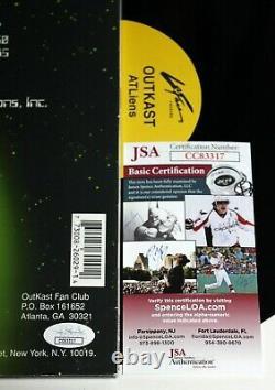 Outkast A Signé Atliens Album 2x Lp Vinyl Record Andre 3000 Autographié Jsa Coa