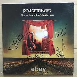 Powderfinger Dream Days Autographié Lp Seulement 300 Fait Bernard Fanning