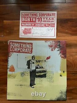 Quelque Chose D'entreprise North Vinyl Lp Sky Blue Sealed Limited, Carte Postale Signée