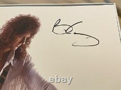 Reine / Brian May'retour À La Lumière' Super Rare 1000 Seulement Édition Signée Coll