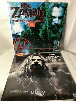 Rob Zombie 11 Vinyl Records Limited Edition Box Set 50/1000 Avec Autographe! Nouveau