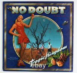 Sans Doute Gwen Stefani Jsa Signé Autographe Album Vinyle Record