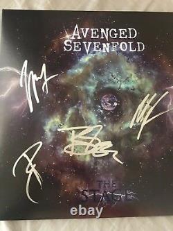 Septuple Signé Vengé Autographié La Scène Vinyl Album M. Shadows + Coa
