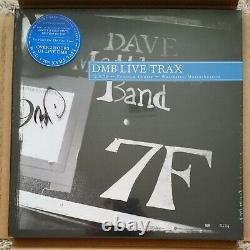 Signé Dave Matthews Band Live Trax Vol 1 Rsd Dmb Volume 1 Blue Vinyl Sock Boyd