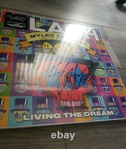 Slash Signed Living The Dream Vinyl Lp Myles Kennedy Guns N Roses Brand 2019