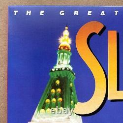 Slick Rick A Signé Les Grandes Aventures De Vinyl 12 Rap Record 2x Lp Autograph