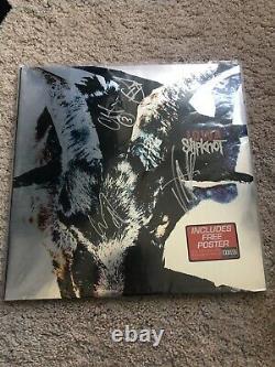 Slipknot Iowa Double Vinyle Original Lp Gatefold Complete Signed X5