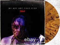 Slipknot Nous Ne Sommes Pas Votre Genre Exclusif Rare Whiskey Couleur 2x Vinyl Lp Signé