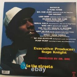 Snoop Dogg Dogystyle Signé Autographied Hip Hop Vinyl Album Beckett