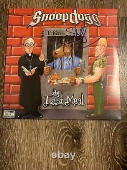 Snoop Dogg Signé Autographié Le Dernier Album De Repas Vinyl Record! C'est Bon.