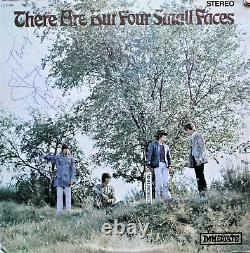 Steve Marriott Main Signée There Are But Four Small Faces Vinyl Record, Acoa
